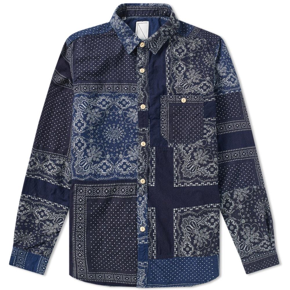SOULIVE Soulive Bandana Ranru Shirt in Blue