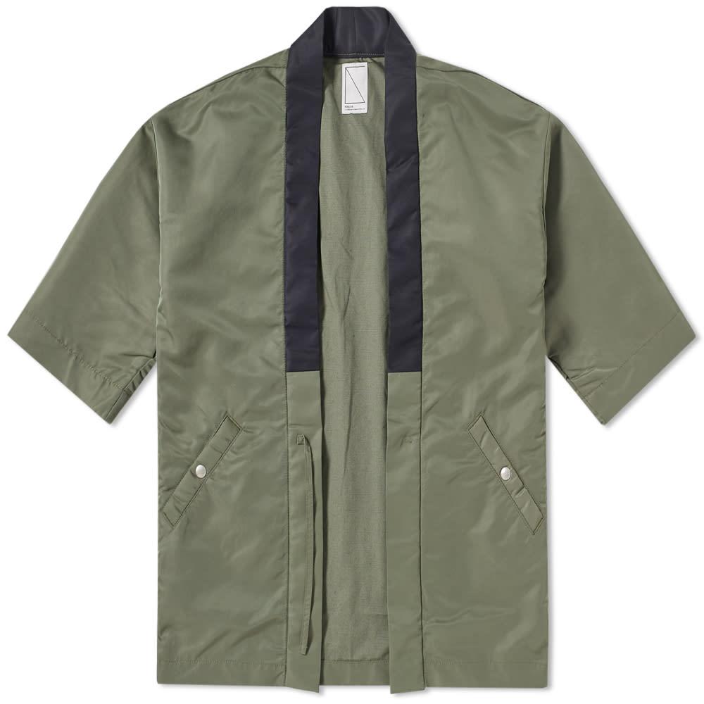 SOULIVE Soulive Haoki Flight Jacket in Green