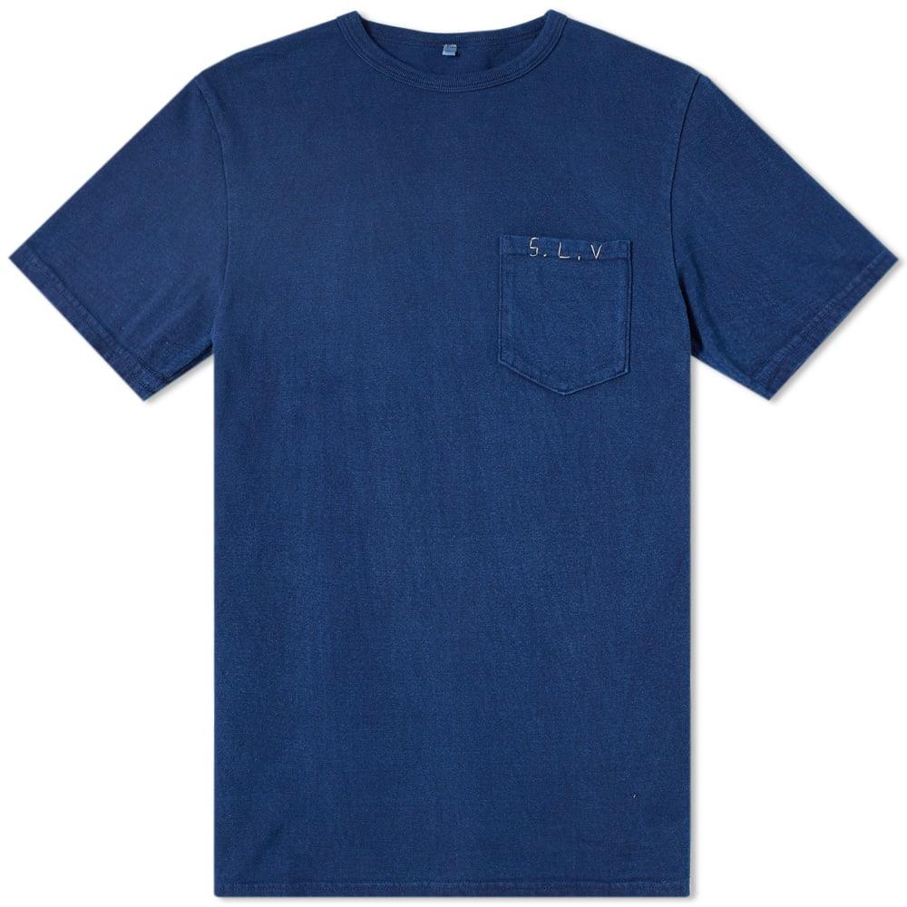 SOULIVE Soulive Slv Stitch Logo Tee in Blue