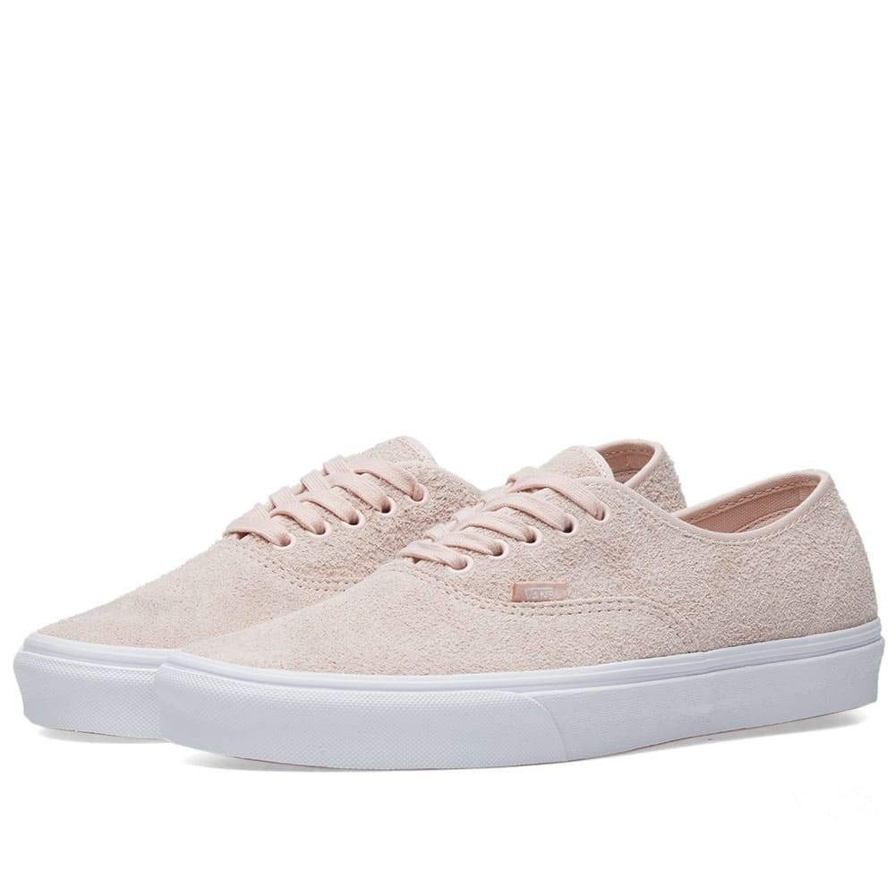 c1f28d34e9 Vans Ua Authentic Hairy Suede In Pink