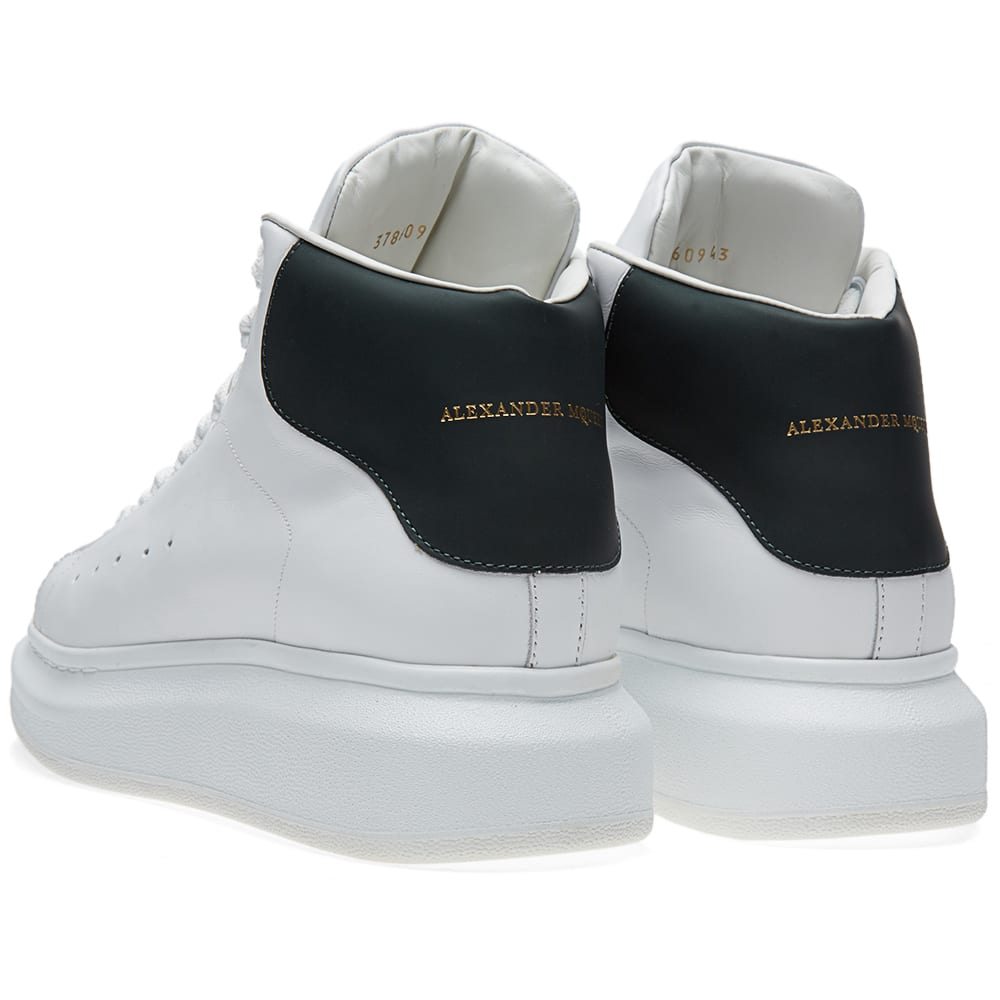 alexander mcqueen oversized sole mid top sneaker white. Black Bedroom Furniture Sets. Home Design Ideas