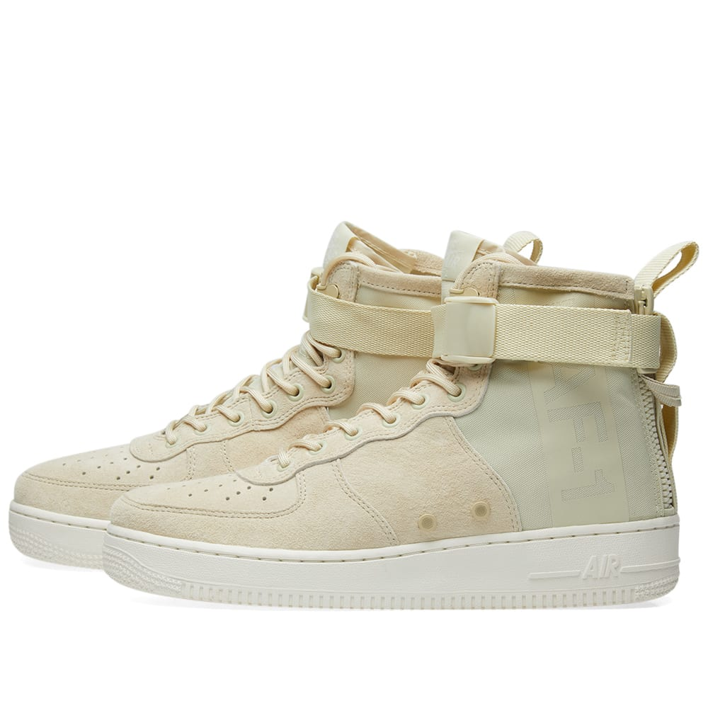 release date 79103 00cb1 Nike SF Air Force 1 Mid W Fossil & Sail   END.