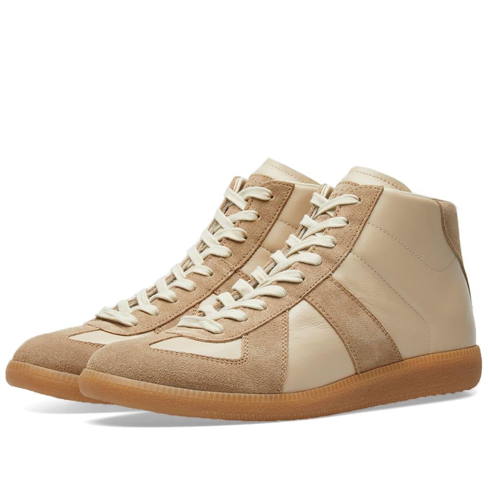ffb2dd435ba173 Maison Margiela 22 Classic Replica High Sneaker Oyster   Amber Sole ...