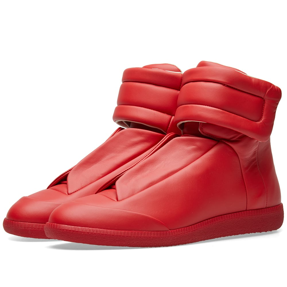 d30939627333 Maison Margiela 22 Future High Tonal Sneaker Red | END.