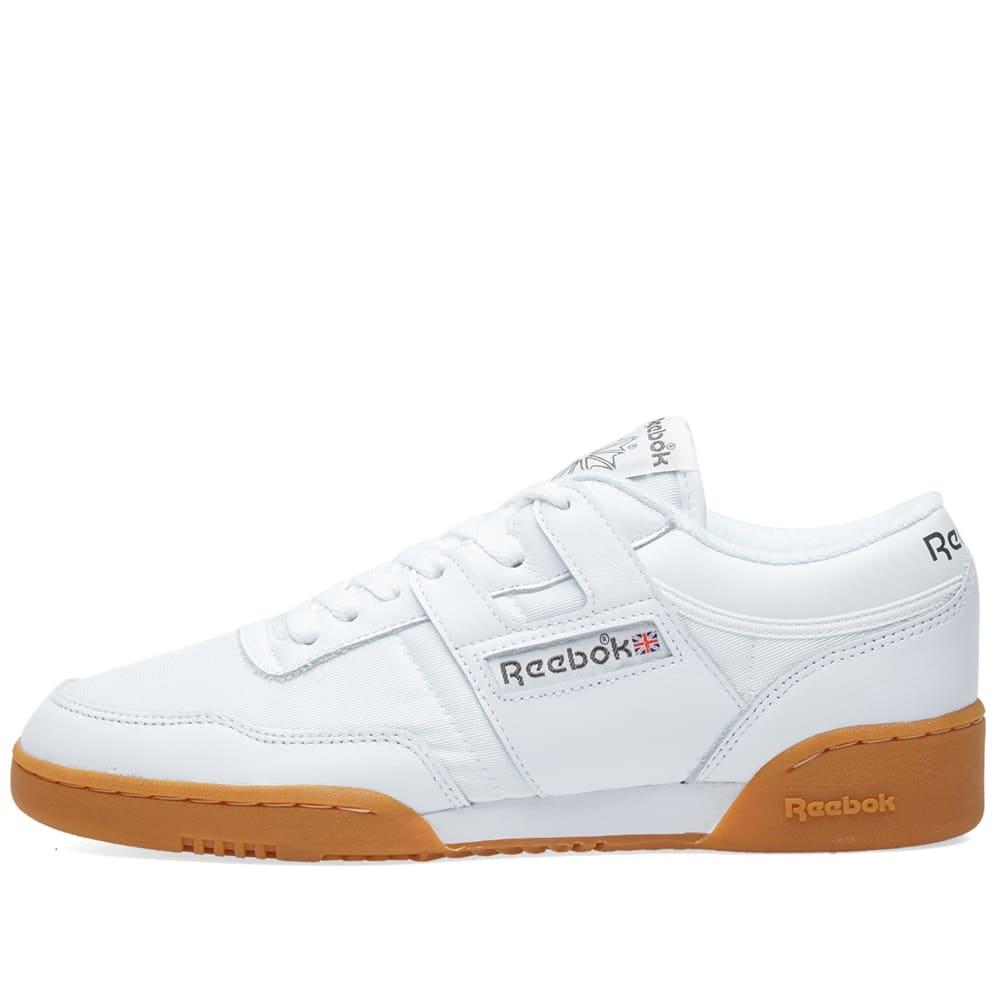 593c0c72ada Reebok Workout 85 Textile White