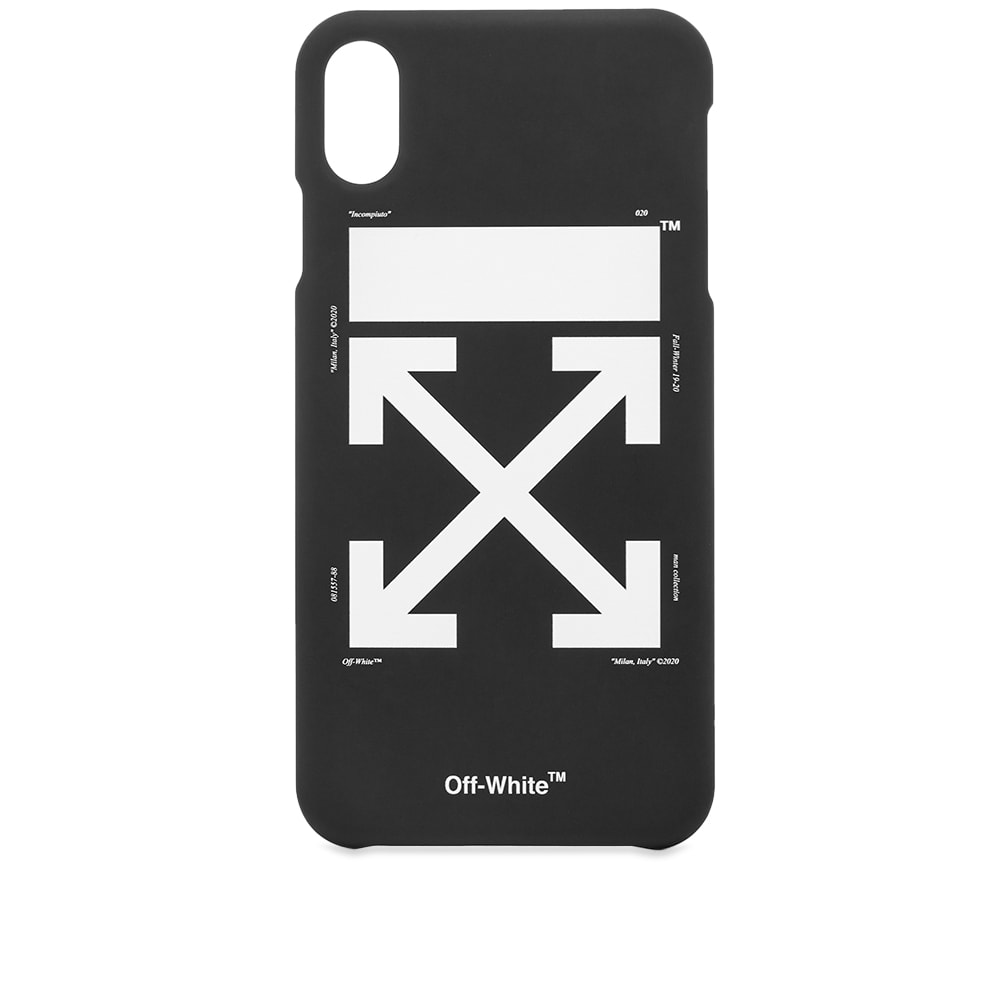 new styles 8dfb8 31184 Off-White Arrow Logo iPhone XS Max Case