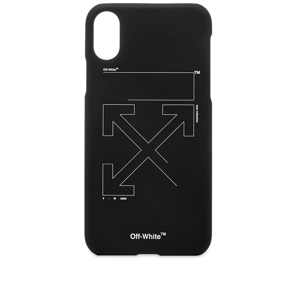 on sale 31604 dbfa4 Off-White Unfinished Arrows iPhone X Case