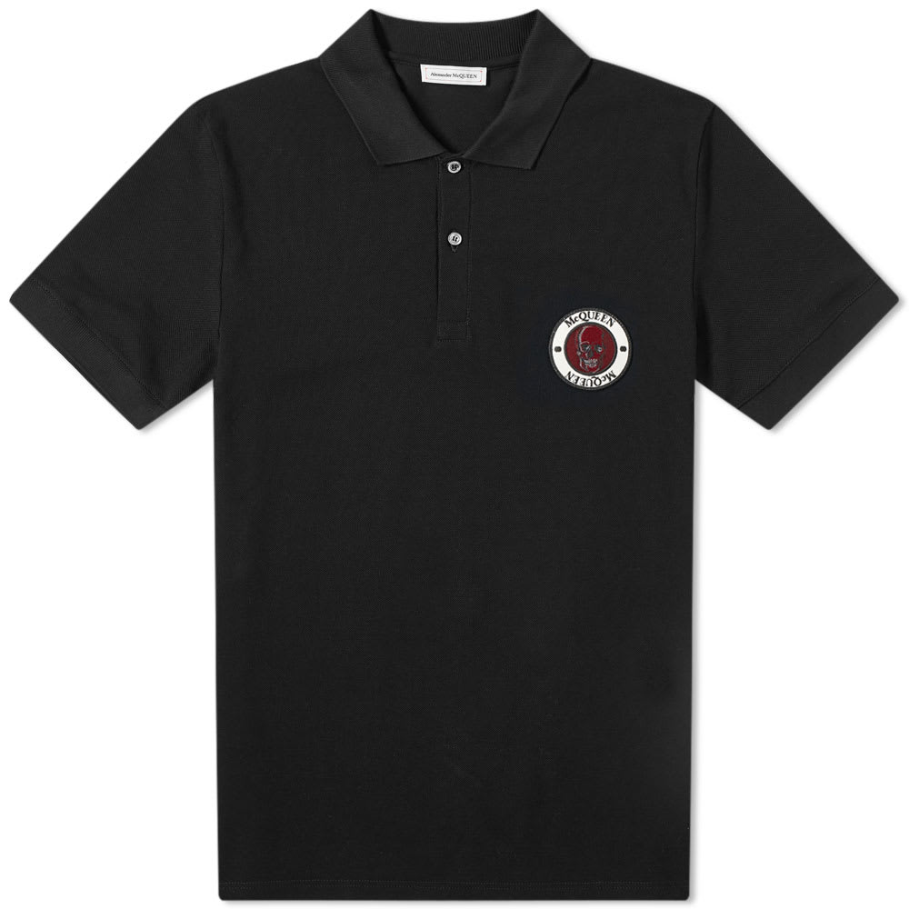 Alexander Mc Queen Skull Patch Logo Polo by Alexander Mc Queen