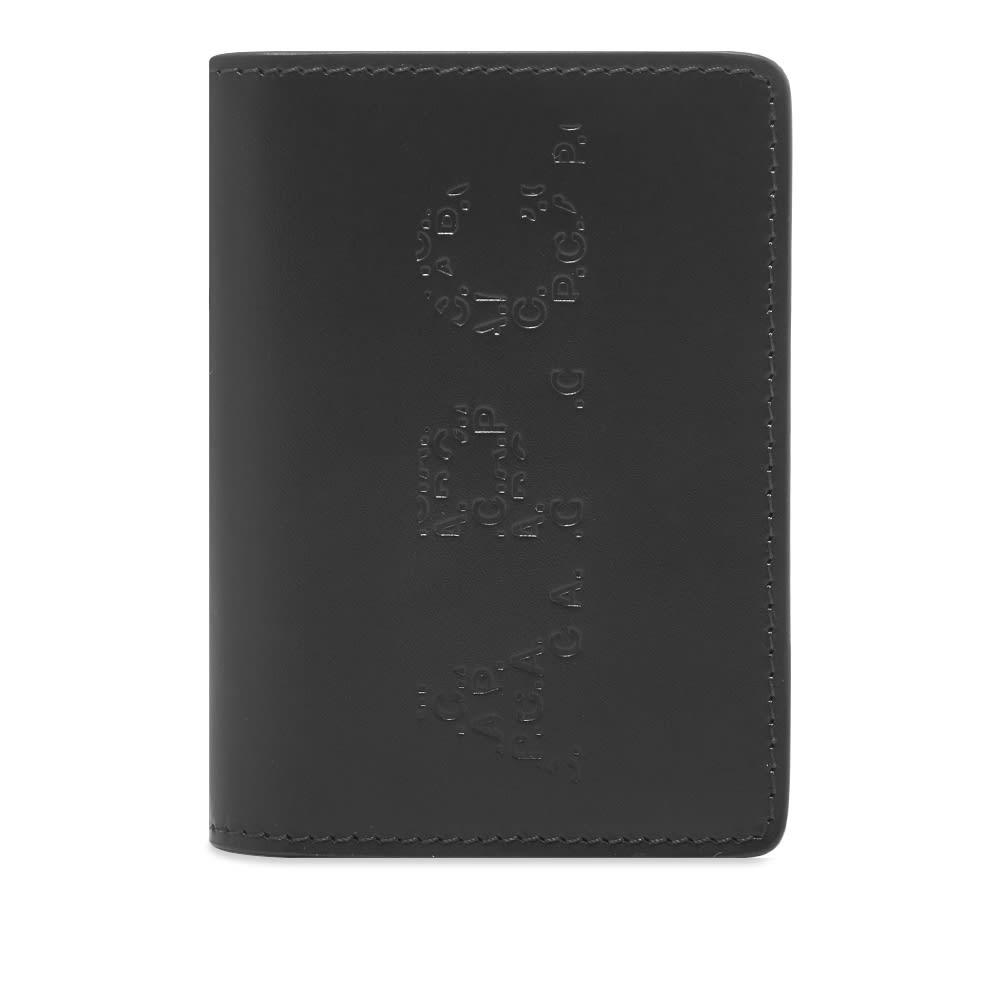 A.P.C. Stafan Embossed Logo Card Holder