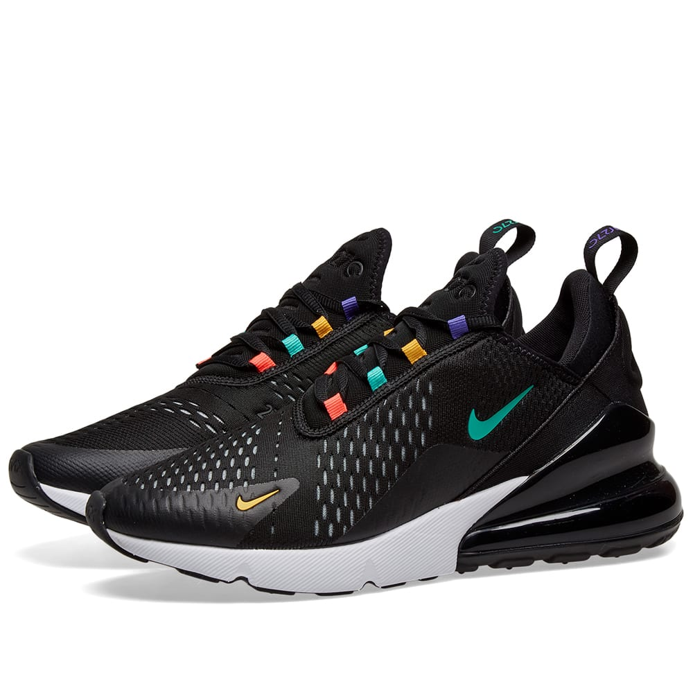 buy online 60528 f3942 Women's Air Max 270 Casual Shoes, Black - Size 5.0