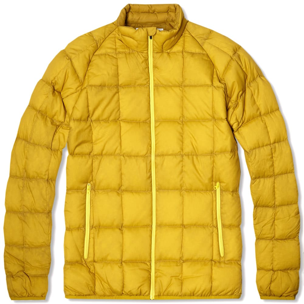 df890d85b9 Norse Projects Jakob Light Down Jacket Oxidised Yellow | END.