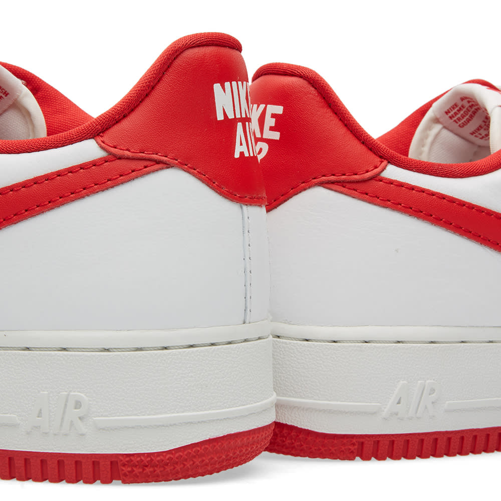 040fe1dd Nike Air Force 1 Low Retro Summit White & University Red | END.