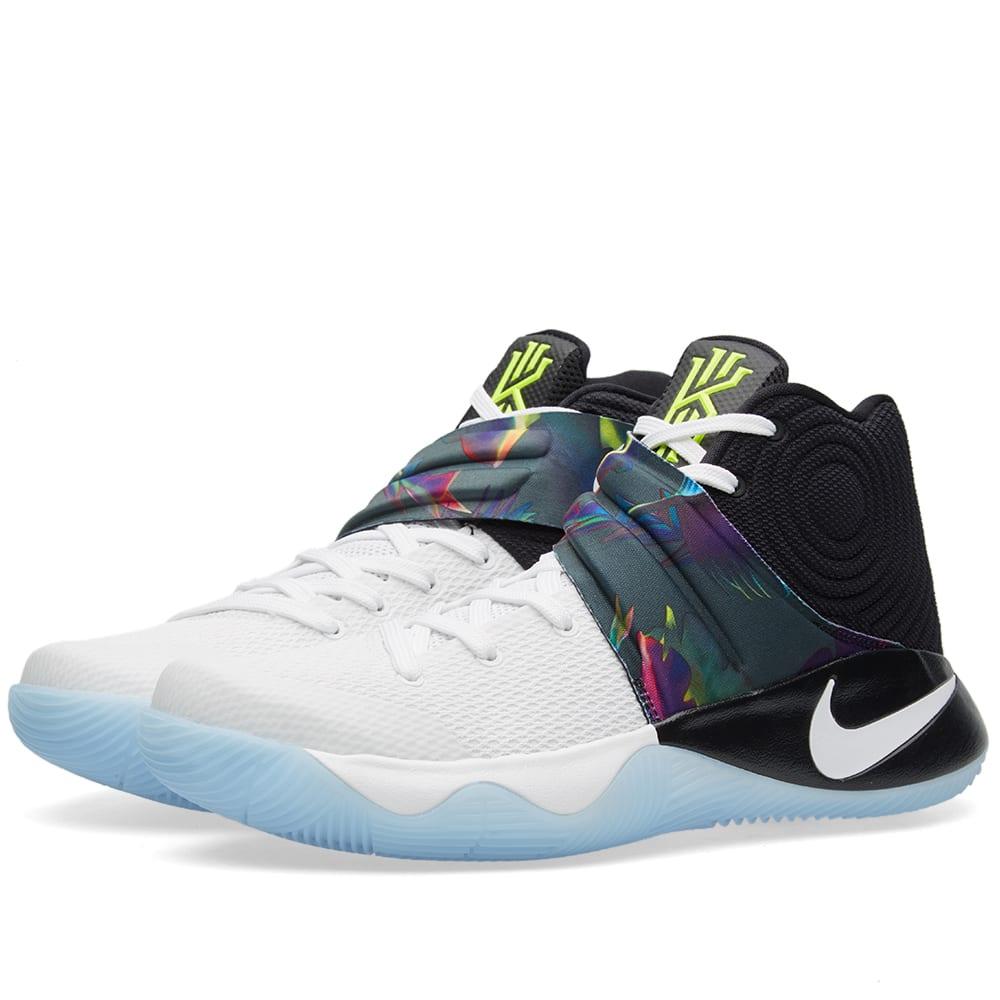 Nike Kyrie 2 (White, Black & Volt)