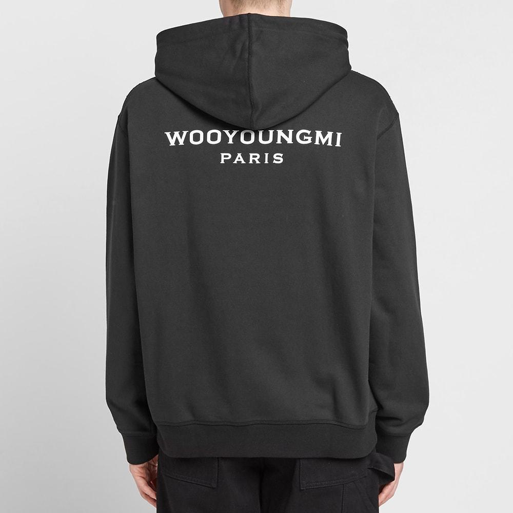 Wooyoungmi Back Logo Popover Hoody