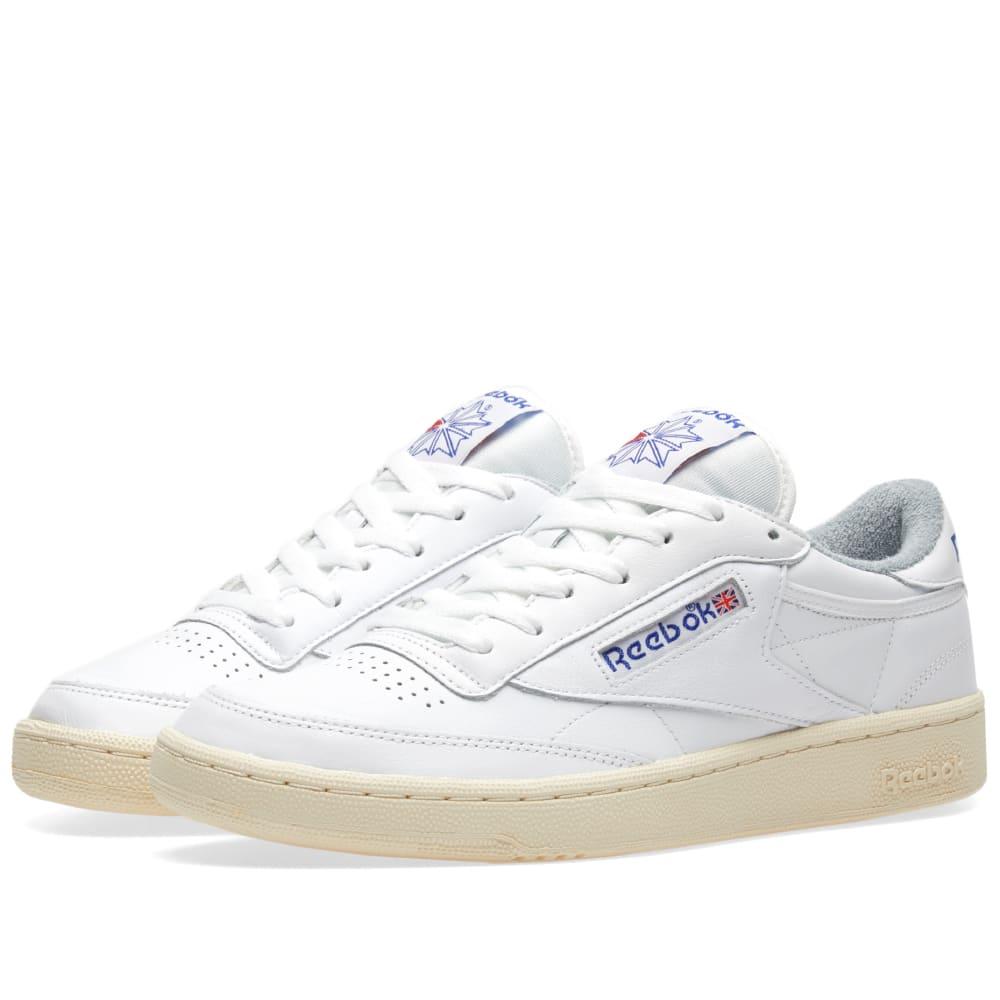 f07674ad8be Reebok Club C 85 Vintage White