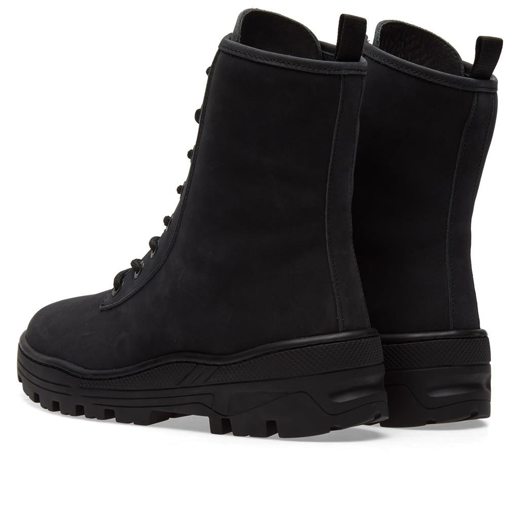 a4c70a30b2e7e Yeezy Season 5 Combat Boot Graphite Nubuck