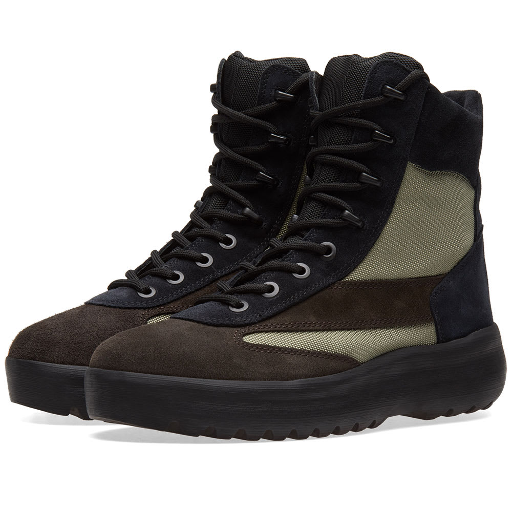 873d8bd709c Yeezy Season 5 Military Boot Oil