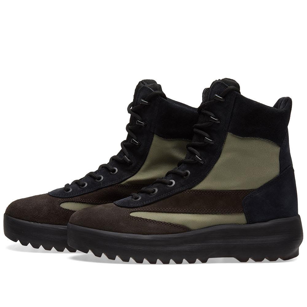 27e8514c9fb18 Yeezy Season 5 Military Boot Oil