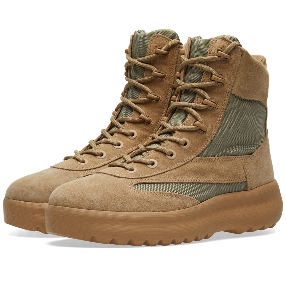 6dd83b14c Yeezy Season 5 Military Boot Taupe