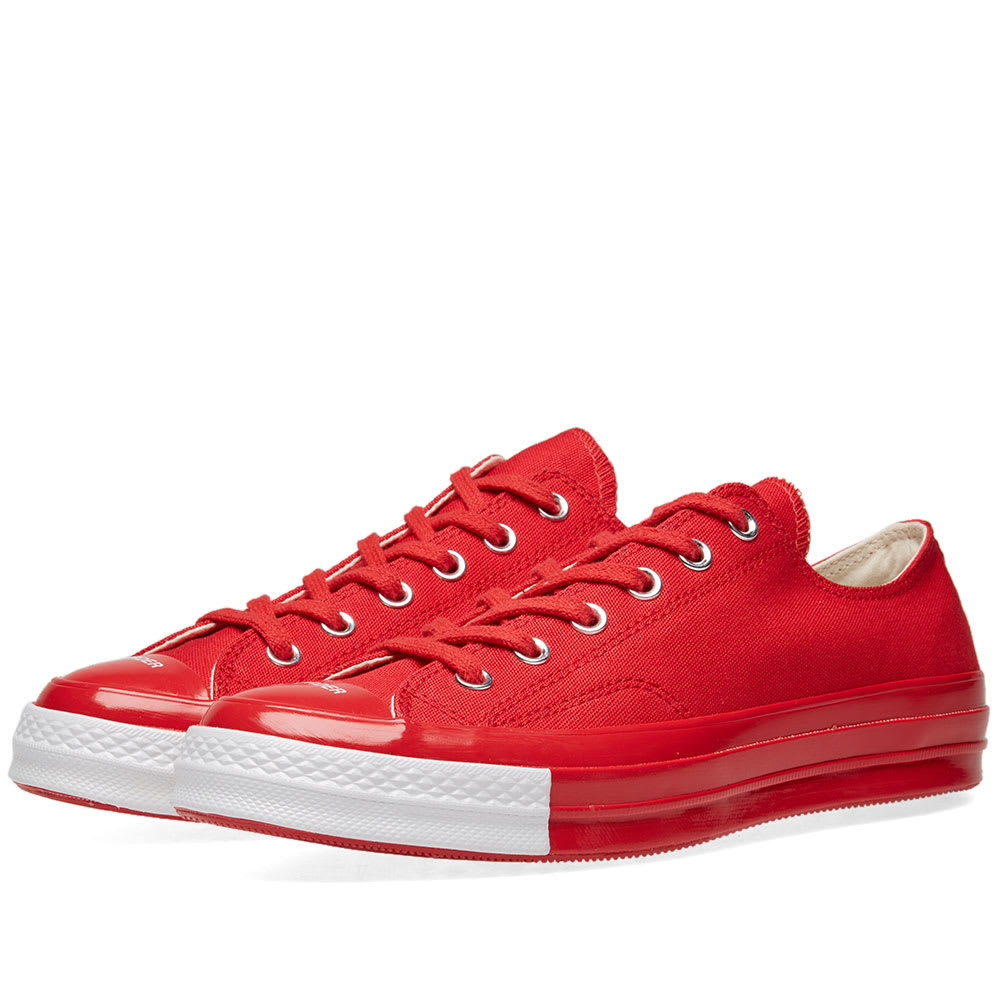 fcb568371953 Converse x Undercover Chuck Taylor 1970s Ox Racing Red   White