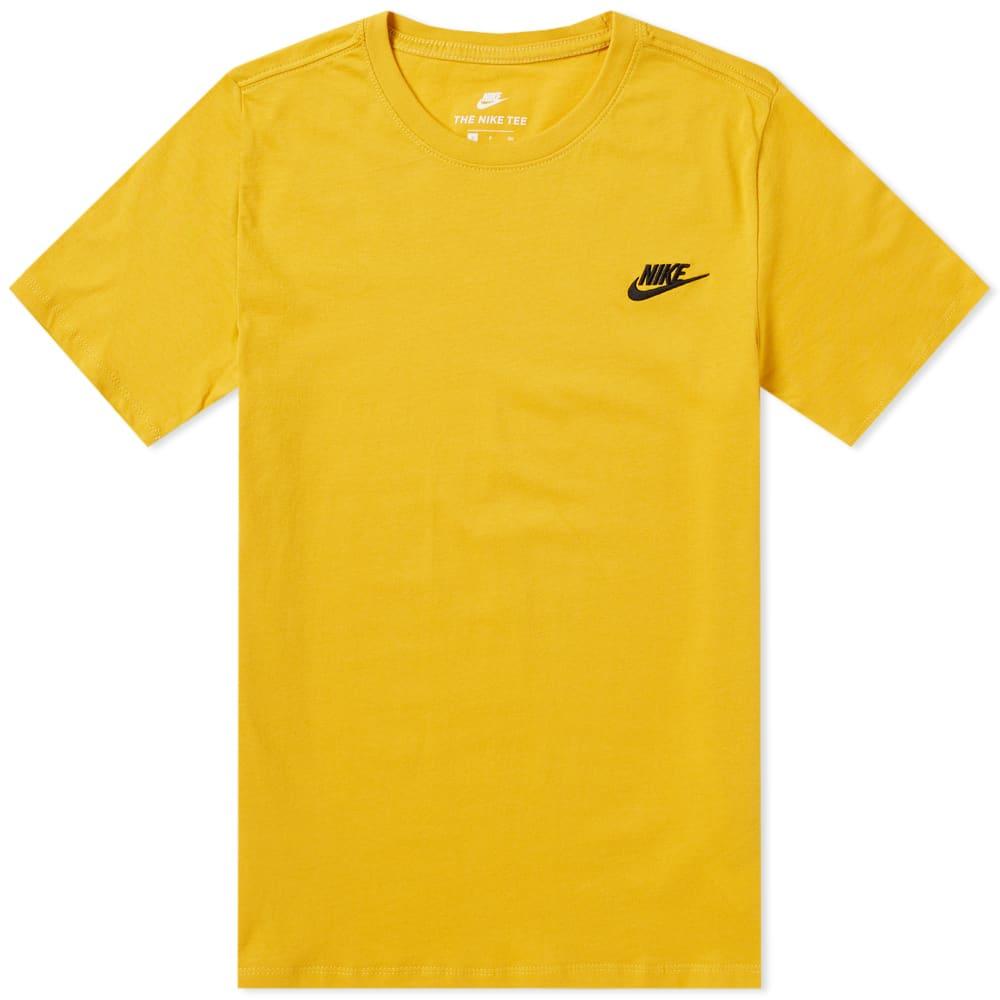 Nike Sportswear Tee Yellow Ochre \u0026