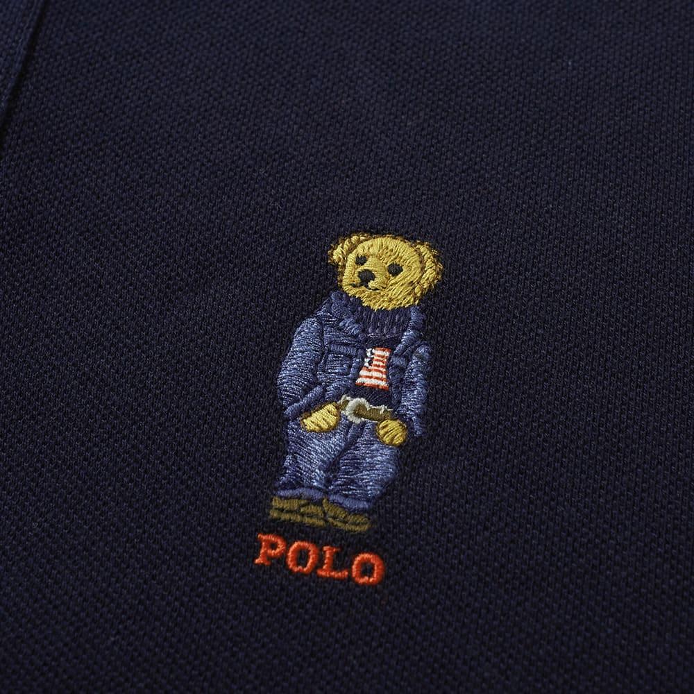 2e371326864cc Polo Ralph Lauren Bear Embroidery Polo Aviator Navy