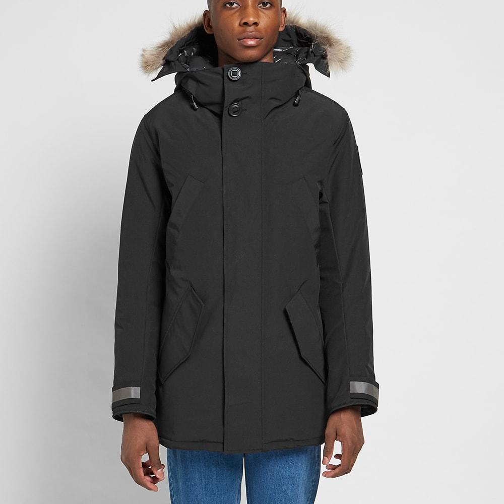 nouveau style 93e15 9c093 Canada Goose Black Label Edgewood Parka