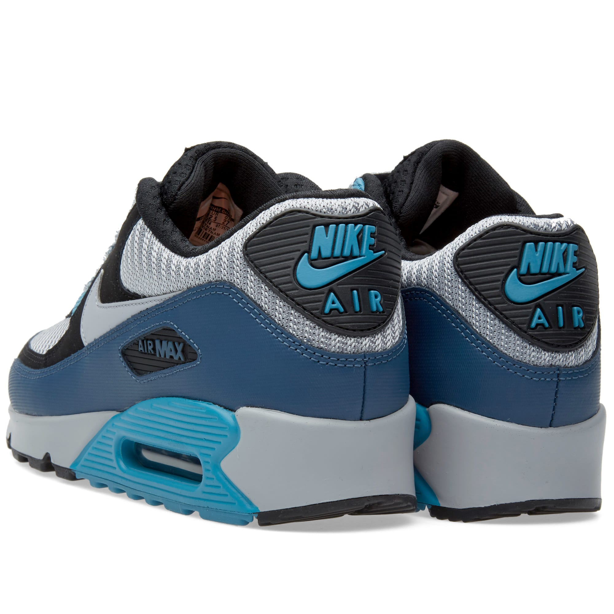 Nike Air Max 90 Essential 537384 031 Grey Squadron Blue