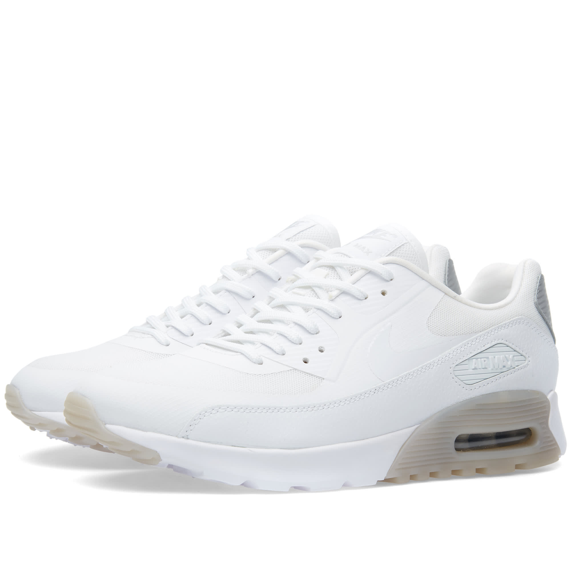 Nike W Air Max 90 Ultra Essential. White \\u0026amp; Wolf Grey .
