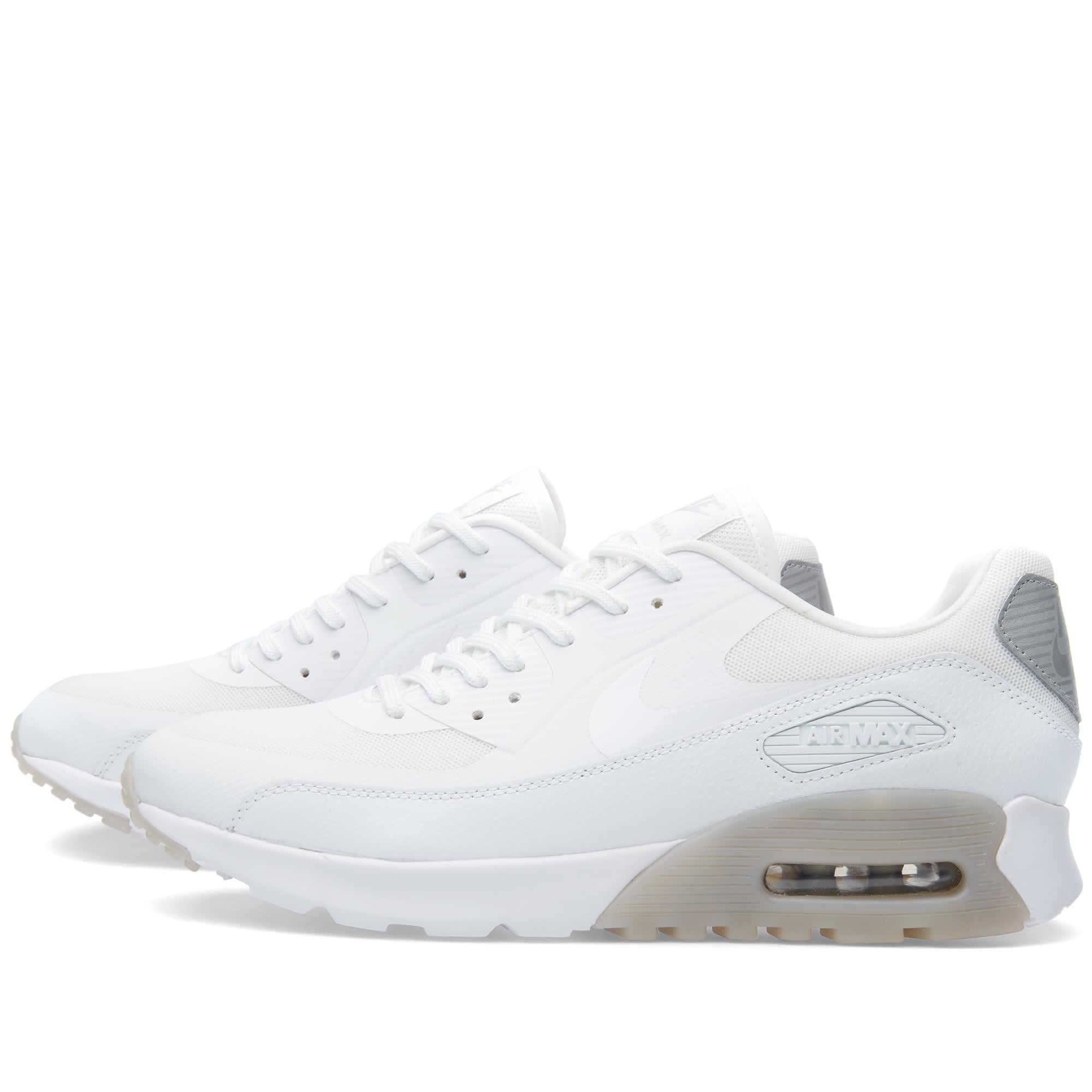 0093bbf99e Nike W Air Max 90 Ultra Essential White & Wolf Grey | END.