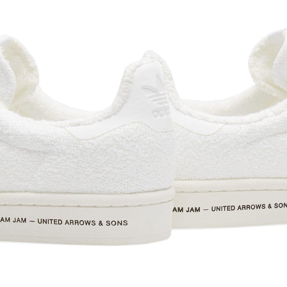 05b4e9fdd5f71 Adidas Consortium x United Arrows   Sons x Slam Jam Campus White   Chalk