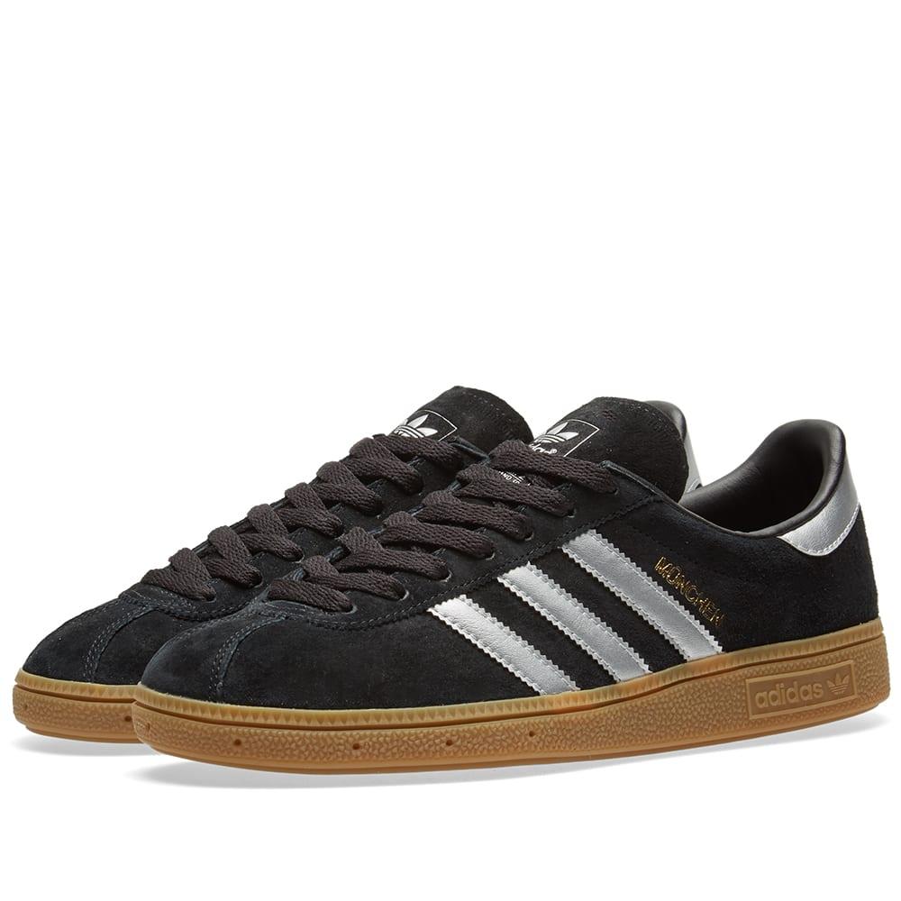 Adidas Munchen Core Black, Silver