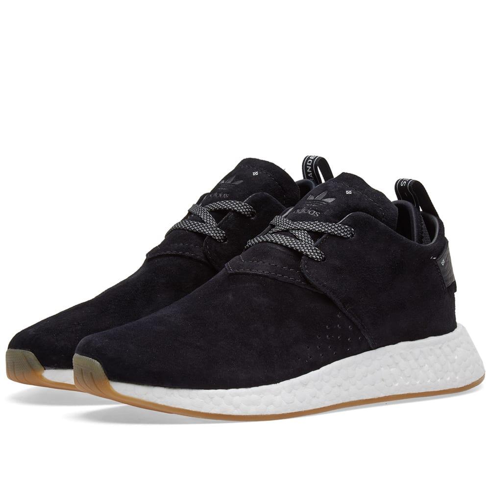 7b0141465 Adidas NMD C2 Core Black   Gum