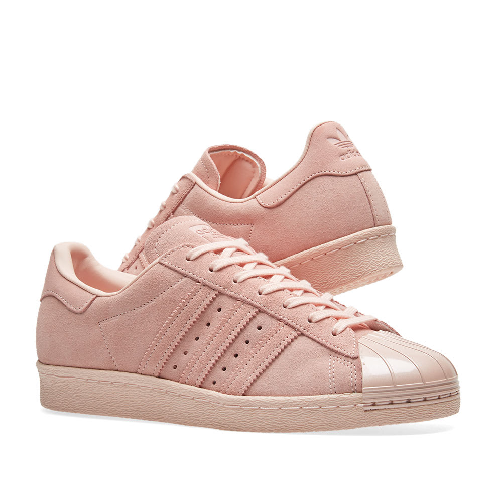 Details about Adidas Superstar 80S Metal Toe W Icey Pink Icey Pink Icey Pink