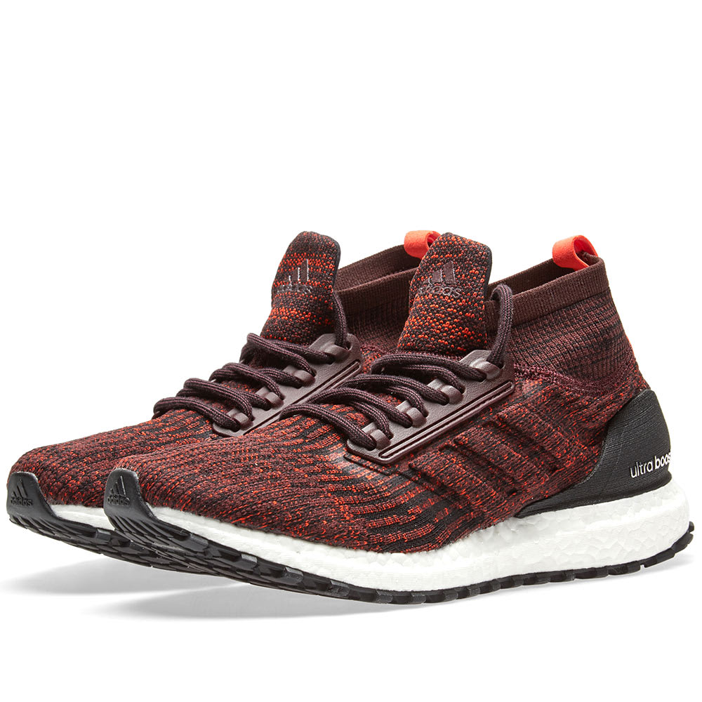 9f43c86a5 Adidas Ultra Boost ATR Dark Burgundy   Energy