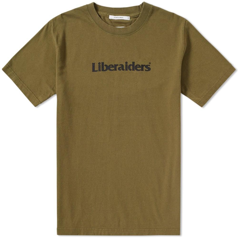 LIBERAIDERS Liberaiders Logo Tee in Green