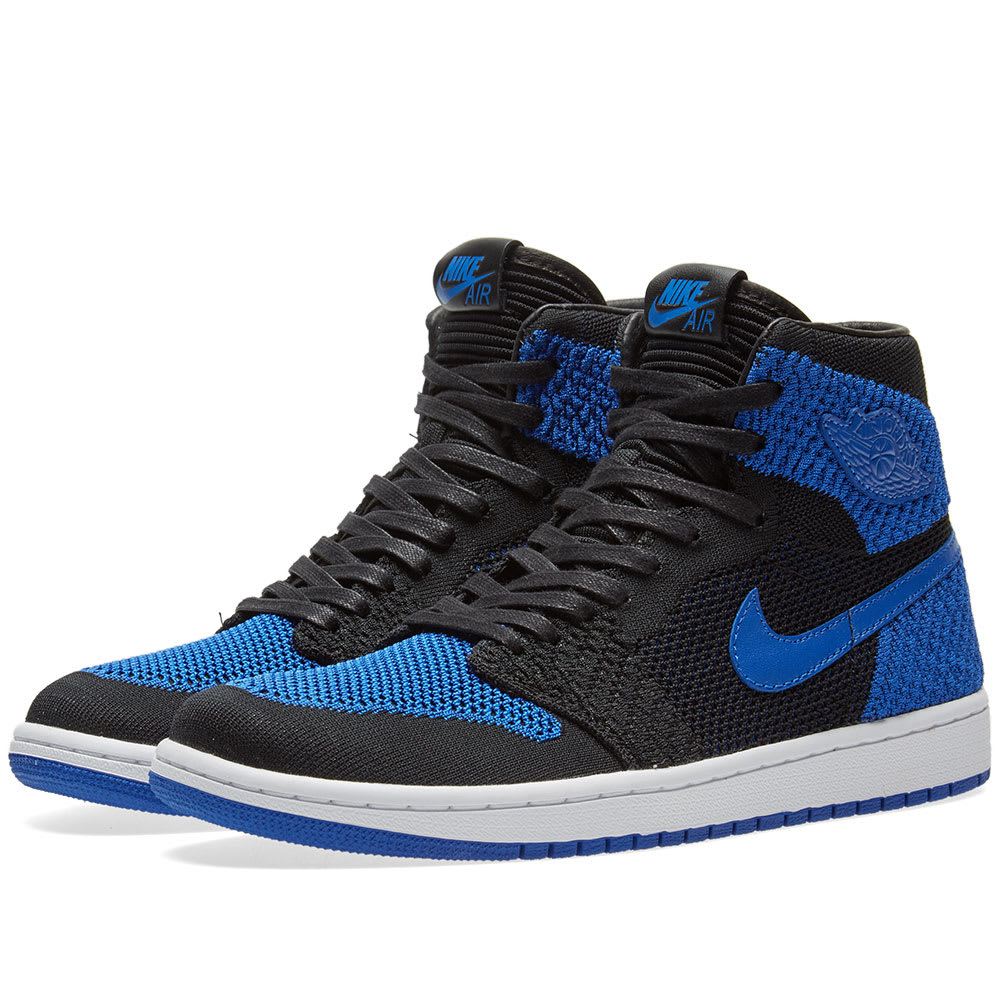 8923a58c028c Nike Air Jordan 1 Retro High Flyknit Black