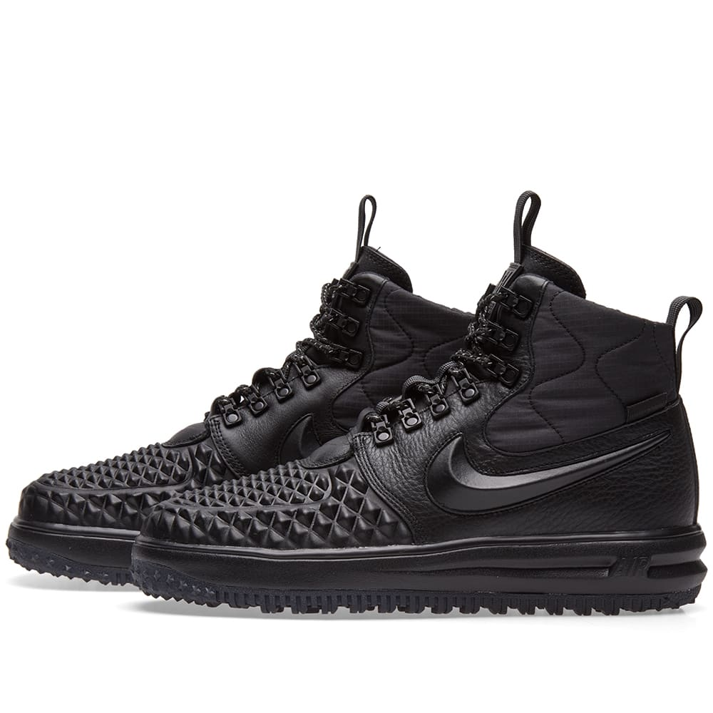 big sale 7b7c9 e7e5b Nike Lunar Force 1 Duckboot  17 Black   Anthracite   END.