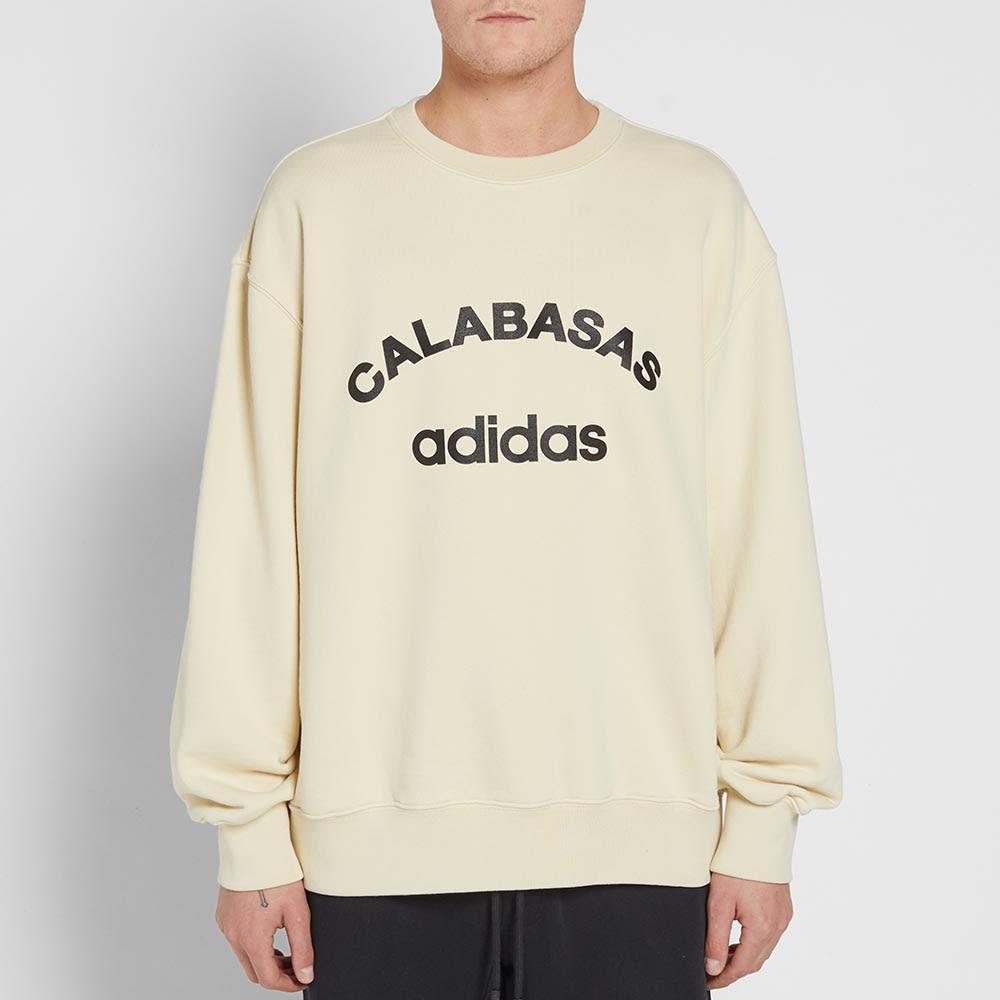 Yeezy Season 5 Adidas Calabasas Crew Sweat