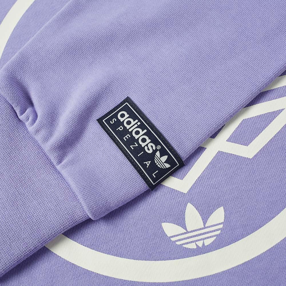 Adidas SPZL Mod Trefoil Crew Sweat