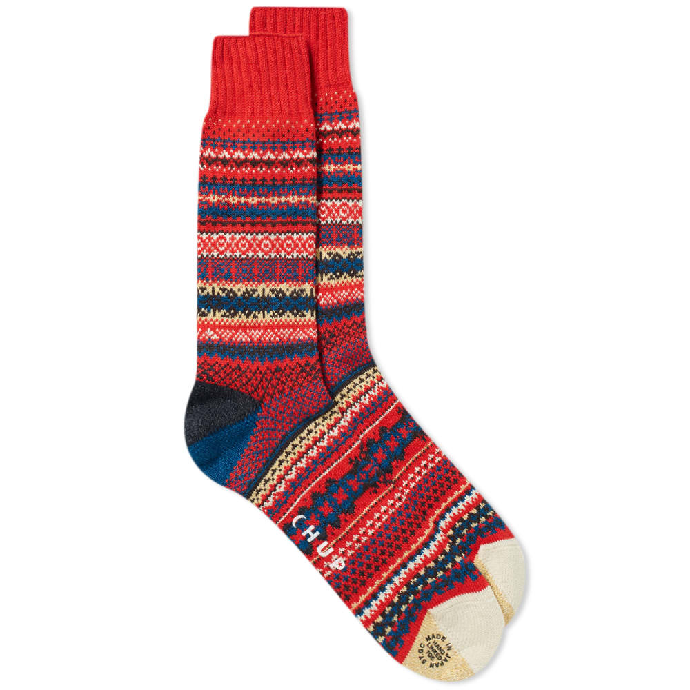 CHUP BY GLEN CLYDE COMPANY Chup Fika Sock in Red