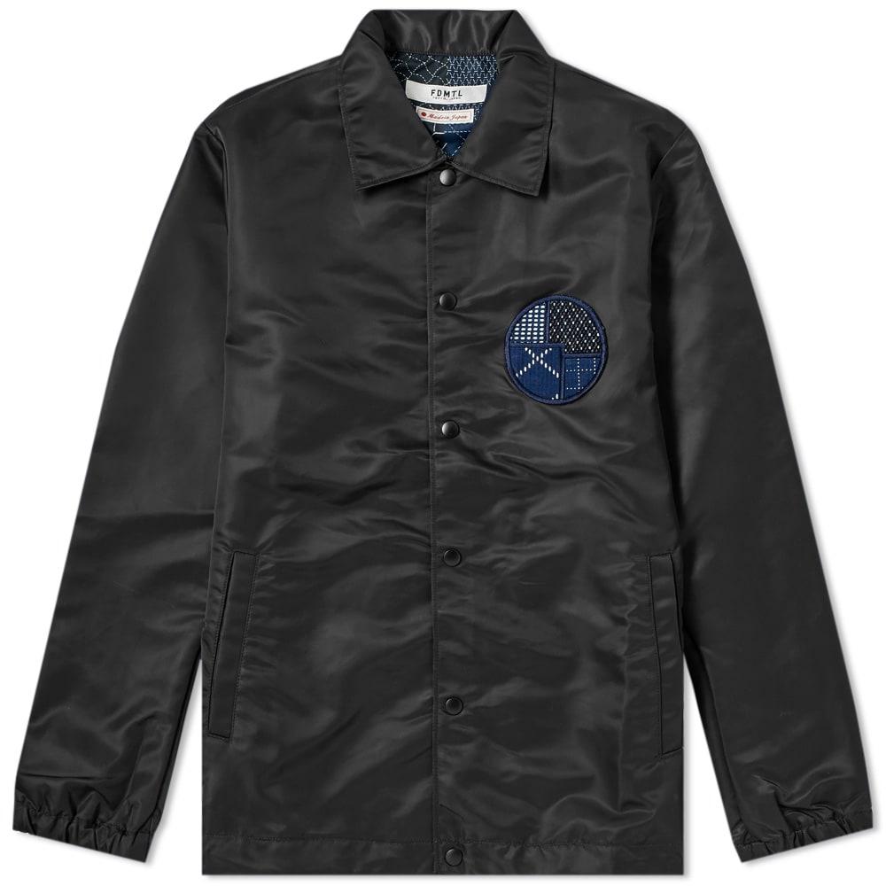 FDMTL Fdmtl Coach Jacket in Black