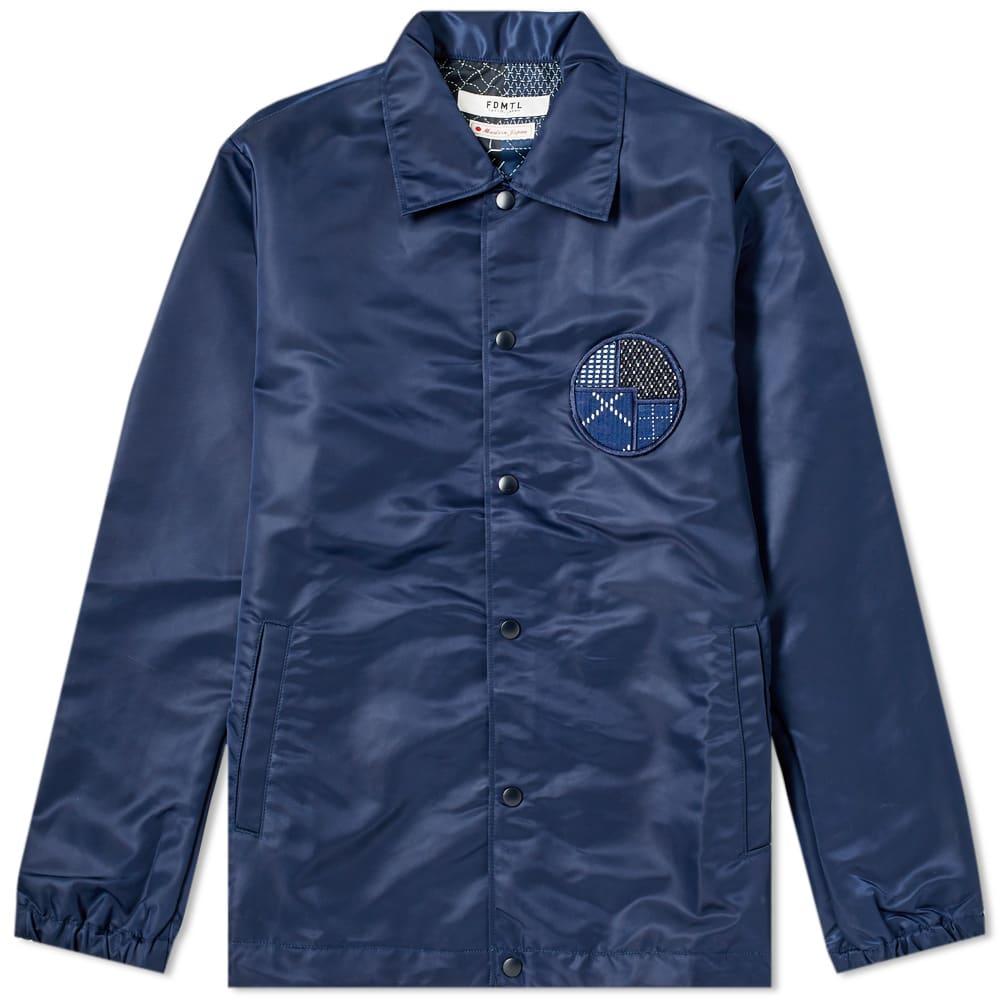 FDMTL Fdmtl Coach Jacket in Blue