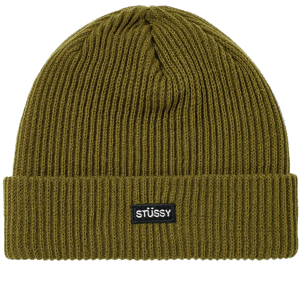 b42c920cd29 Stussy Small Watchcap Beanie In Green