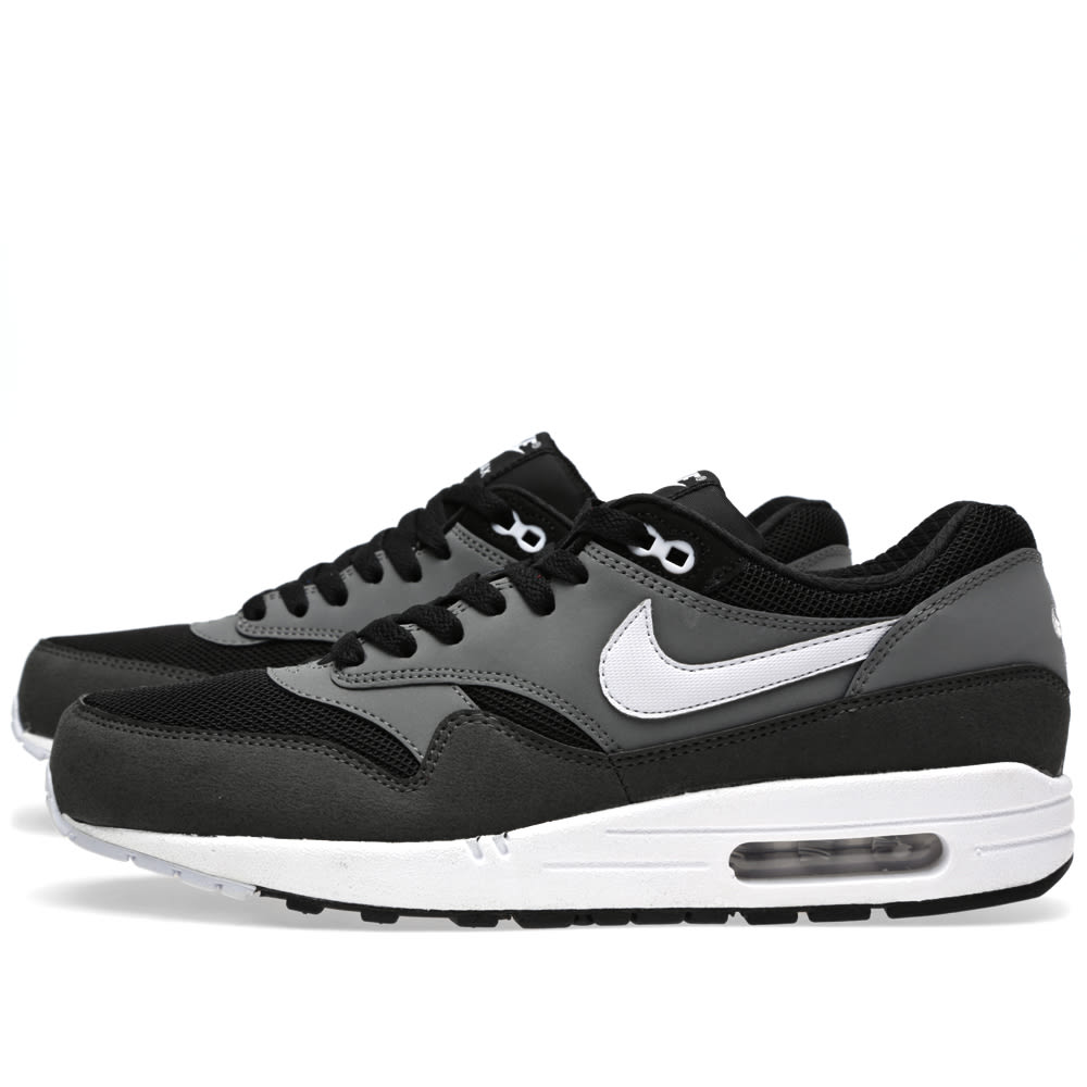 nike air max 1 essential black grey