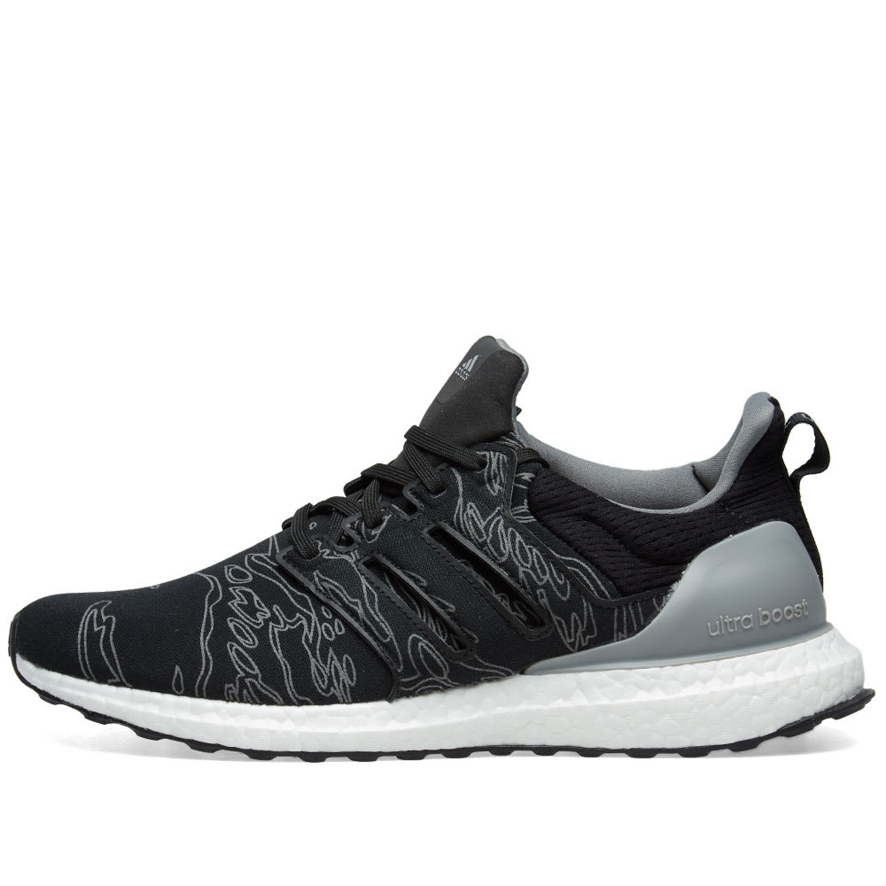 8d9bf25fb9b Adidas x Undefeated Ultra Boost Utility Black   Cinder