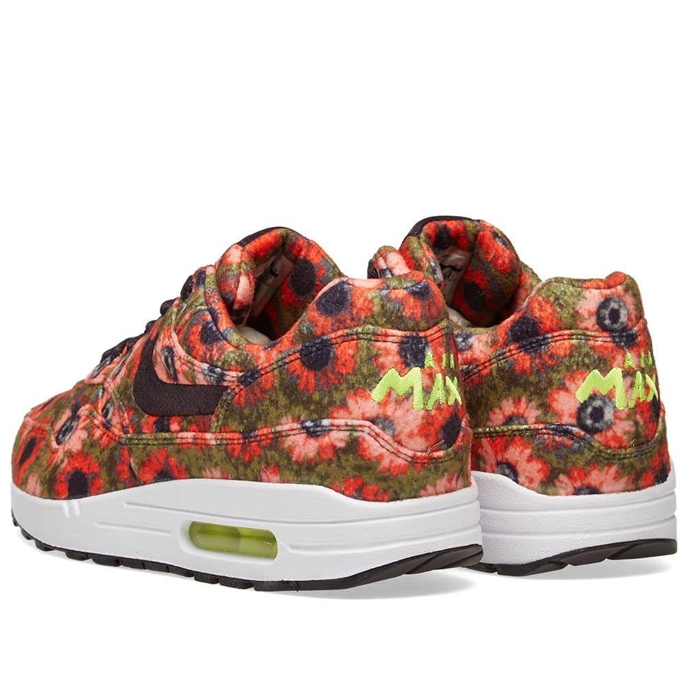 sale retailer 5a82d 88cc4 Nike Air Max 1 Premium SE  Floral  Black, Crimson   Spruce   END.