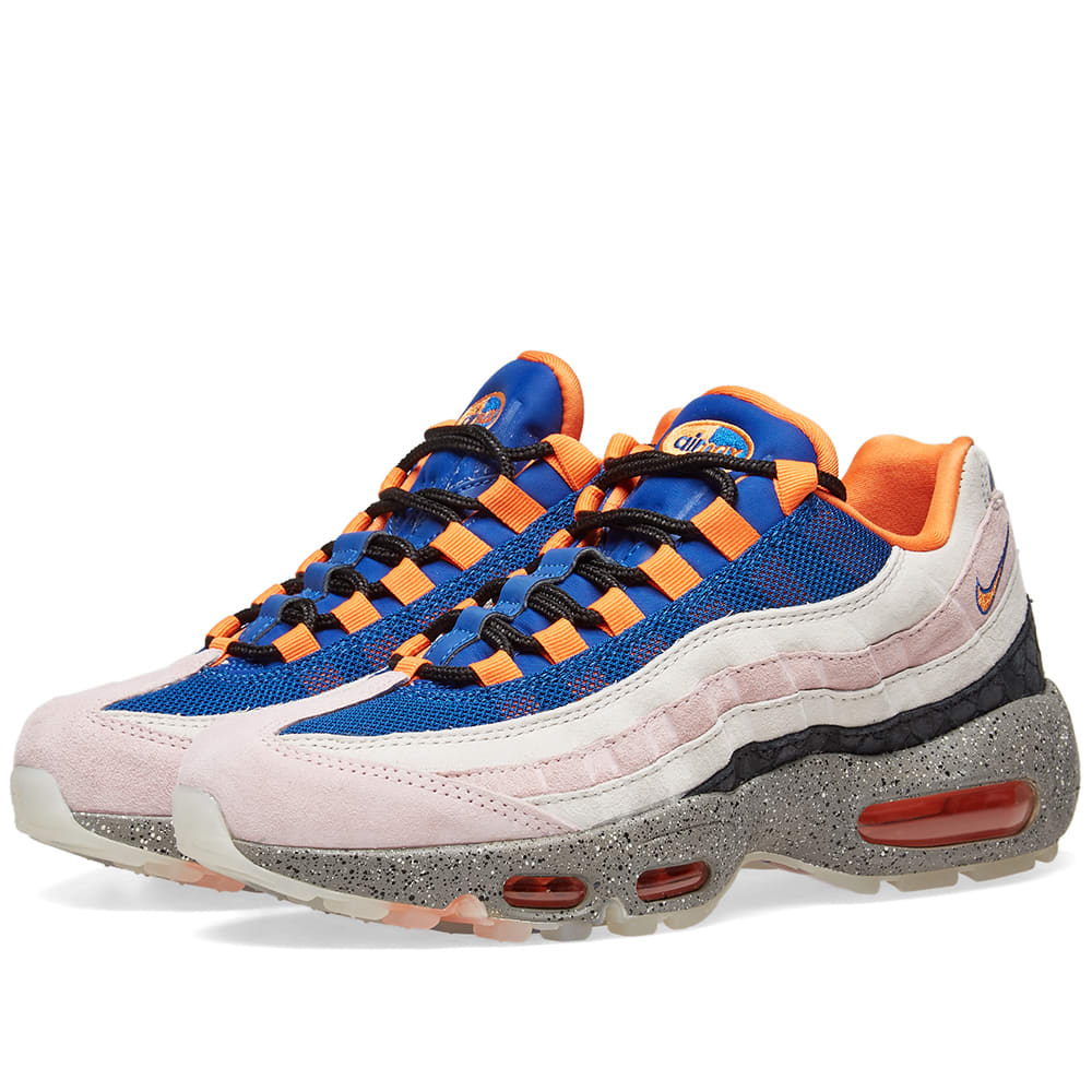 Mens Nike Air Max 95 Champagne Orange Uk Size 8