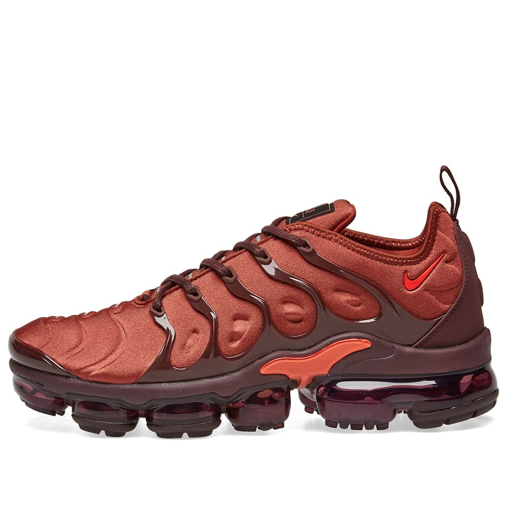 buy online 09df2 bc125 Nike Air VaporMax Plus Orange, Red, Burgundy   Silver   END.