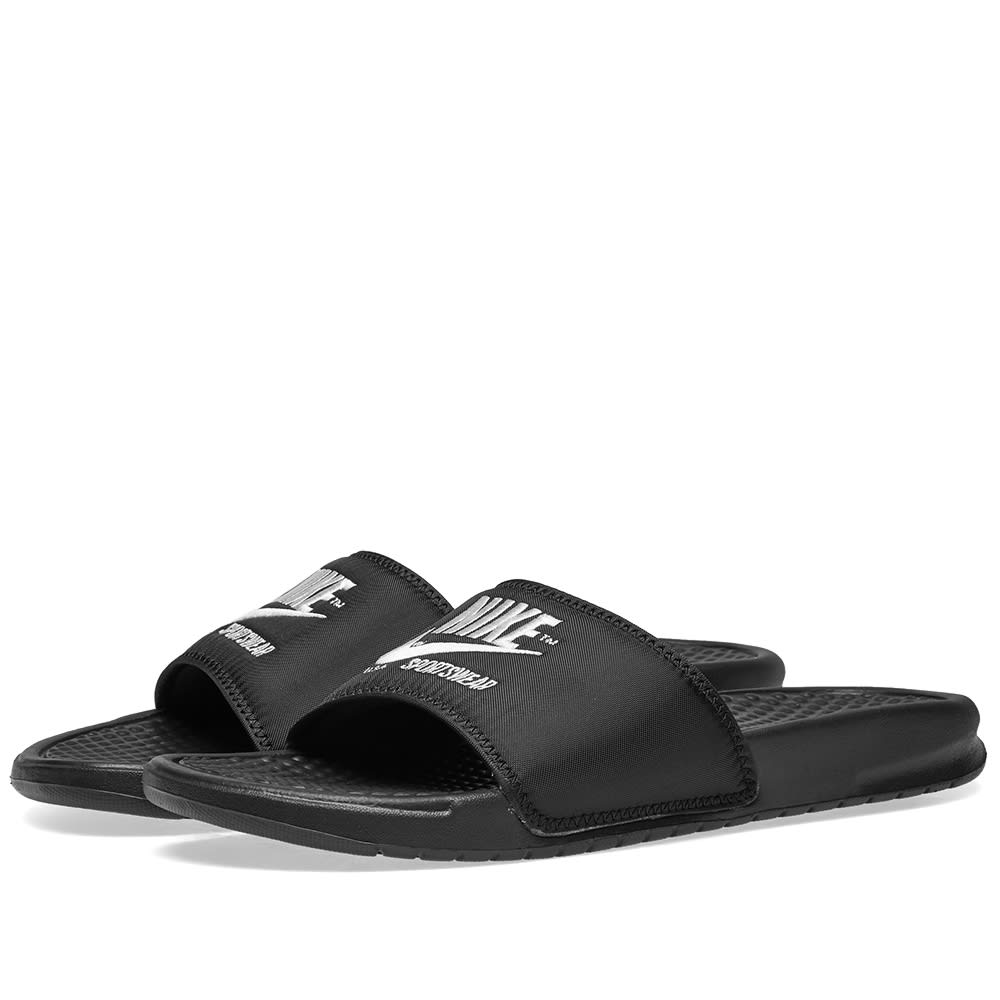 new products 5d316 8d965 Nike Benassi JDI TXT SE Black   White   END.